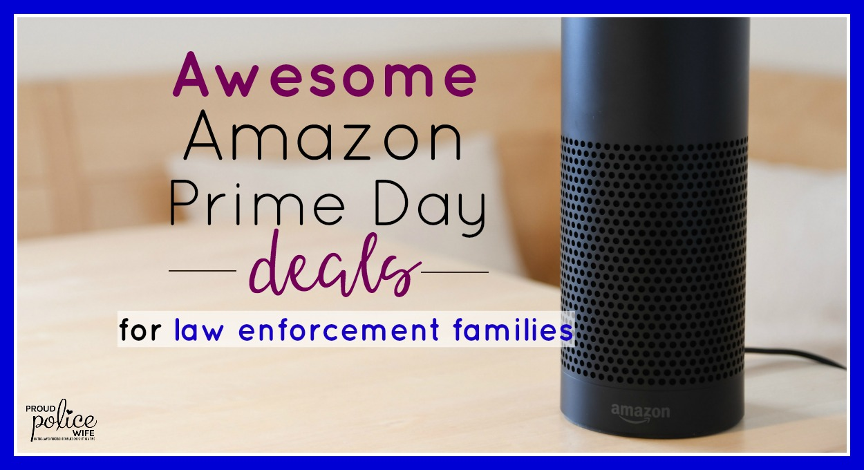 Awesome Amazon Prime Day deals for law enforcement families