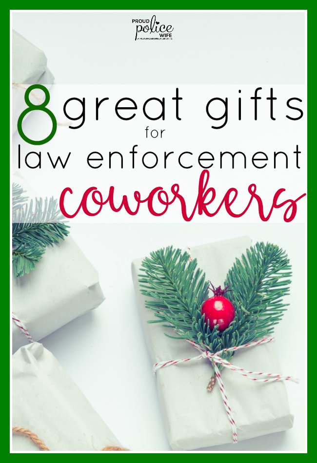 8 great gifts for law enforcement coworkers |#police |#gifts |#coworkers  sc 1 st  Proud Police Wife & 8 great gifts for law enforcement coworkers they will love