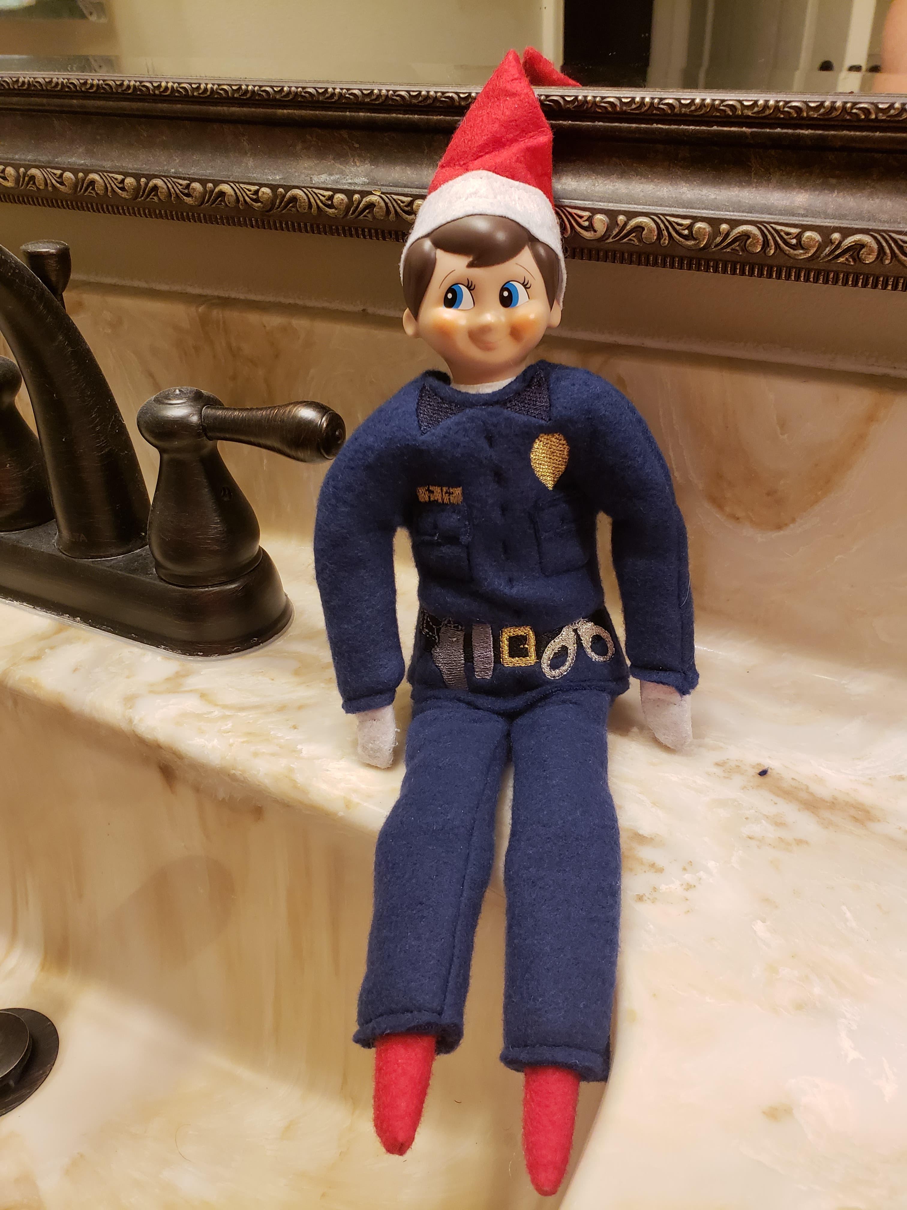 8 Funny Police Elf On The Shelf Ideas 10 Bonus Ideas